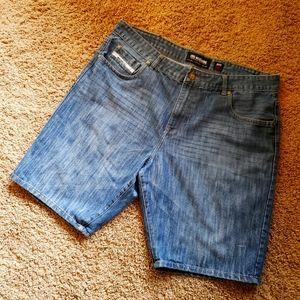 Ecko Unltd Mens Jeans Shorts Size 40